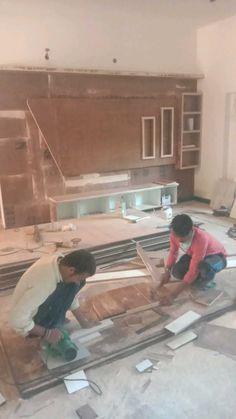 Wood Bed Design, Wooden Door Design, Tv Wall Design, Tv Unit Furniture Design, Tv Unit Interior Design, Tv Furniture, Tv Cupboard Design, Lcd Panel Design, Tea Table Design