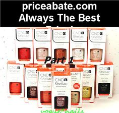 CND SHELLAC UV GEL COLOR Nail Polish Base Top Coat / Part 1* Pick Any Color - #priceabate! BUY IT NOW ONLY $5.55