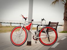 Seatylock: Bicycle Saddle & Lock in One