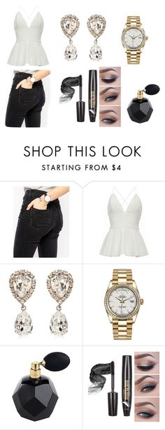 """""""Out 1"""" by jasmin-baja ❤ liked on Polyvore featuring ASOS, Dolce&Gabbana and Rolex"""