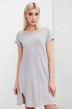 Silence + Noise Thigh-Slit T-Shirt Dress #UrbanOutfitters