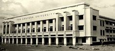 Far Eastern University, Manila Pablo Antonio Philippine Architecture, Brutalist Buildings, Philippines Culture, Manila, Monuments, Architects, Past, University, History