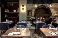 LOUIS dining chairs at the IZAKAYA Restaurant located in the SIR NIKOLAI HOTEL , HAMBURG