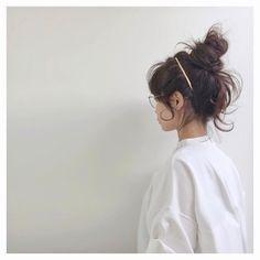 @__a7.2__ - Instagram:「#hairarrange やっぱりお団子が好き❤︎ . あけましておめでとうございます(◁今更) 今年もよろしくお願いします❣ . #enfold #pluie #oliverpeoples」