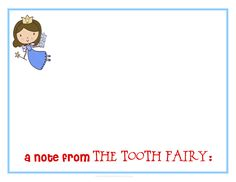 Free printable tooth fairy letter tooth fairy certificate a note from the tooth fairy spiritdancerdesigns Image collections