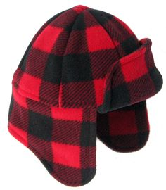 Stylish warm hat for both men and women. Beautiful made in Canada trapper hat has two layers of fleece to block wind, resist damp and keep you looking good while staying warm.