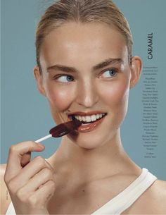 visual optimism; fashion editorials, shows, campaigns & more!: gloss lollipops: ymre stiekema by emilio tini for elle france 9th may 2014