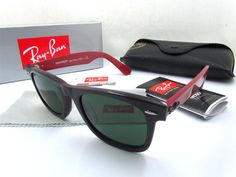 2011 Cheap Ray Ban RB2140 966 Sunglasses in Coffee mix Red with