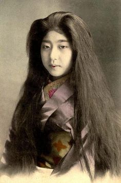 明治時代の女の子
