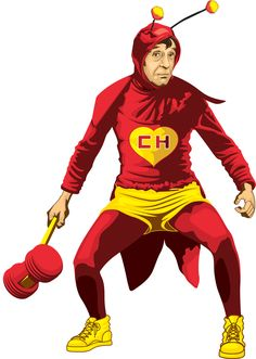 "Mexico's iconic ""superhero"" El Chapulín Colorado"