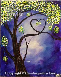 Love Tree Purple |