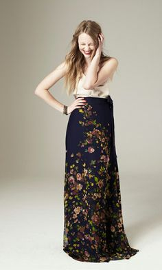 j crew maxi skirt - 2012 collection - via Dear Heart: Best Dressed