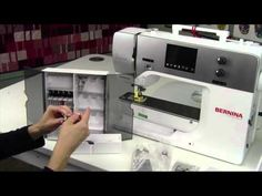 The BERNINA 720, 740 and 770 QE allow even absolute sewing novices to achieve excellent results. This video tutorial will take you through setting up your BE...