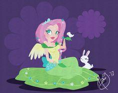 My Little Pony fluttershy Cartoon Network Adventure Time, Adventure Time Anime, Mlp My Little Pony, My Little Pony Friendship, Little Poni, Mlp Fan Art, My Little Pony Pictures, Equestria Girls, Powerpuff Girls