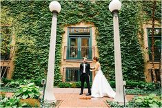 This Ivy Room wedding is bold, stylish and unique just like the ...