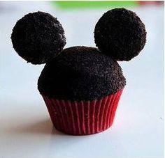 Mickey Mouse Cupcakes Recipe - Disney Recipes
