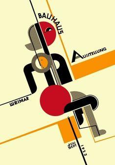Art Bauhaus, Bauhaus Style, Bauhaus Design, Art Exhibition Posters, Russian Constructivism, Art Eras, Composition Art, Yearbook Design, Geometric Art
