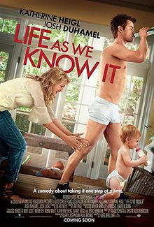 Life As We Know It on DVD February 2011 starring Katherine Heigl, Josh Duhamel, Josh Lucas, Jean Smart. Holly Berenson (Katherine Heigl) is an up-and-coming caterer and Eric Messer (Josh Duhamel) is a promising network sports director. See Movie, Movie List, Movie Tv, Josh Lucas, Chick Flicks, Bon Film, Katherine Heigl, Movies Worth Watching, Josh Duhamel