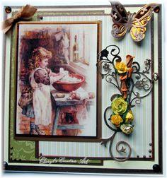 card using an image from Joanna Sheene,