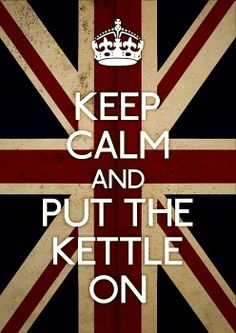 OMG I know so many people who would love a poster of this...my British/Irish/Scottish tea drinking friends