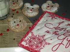 Yummy cookie recipe for the holidays. Polar Bears:0)