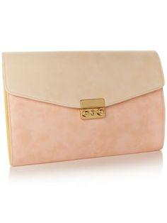 Pastels Envelope Clutch - Accessorize Price:                    £25.00