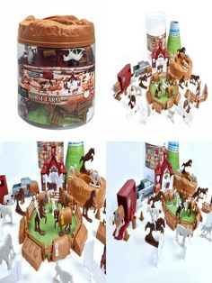Jumping, obstacle course, or horse training; The horse activity bucket will provide hours of horse play imagination. Horse Training, Horse Farms, Blue Ribbon, Sunny Days, Snow Globes, Bucket, Entertainment, Horses, Things To Sell