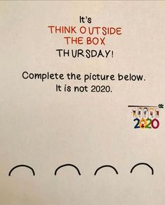 Instagram Creative Thinking, Creative Writing, Question Of The Day, This Or That Questions, Bell Ringers, Thursday Morning, Student Success, Morning Messages, Thinking Outside The Box