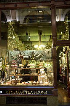 Hopetoun Tea Room - Block Arcade 282 Collins St, Melbourne VIC (03) 9650 2777