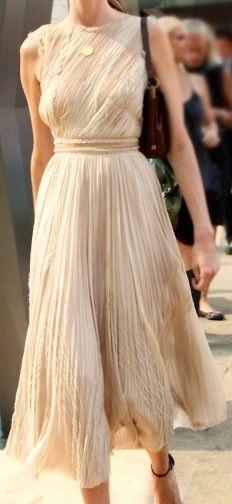 Gorgeous Cream Dress