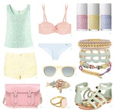 STOCKING UP FOR SUMMER! PASTEL BEACH