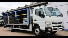 MITS CANT 7C15 BEAVERTAIL Mitsubishi Canter, Used Trucks For Sale, Electric Winch, Sale Promotion, Commercial Vehicle, Online Business