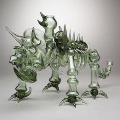 Robin Hood Glass - Triceratops Dab Rig