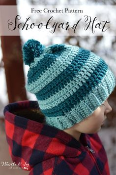 Schoolyard Striped Hat - Whistle and Ivy