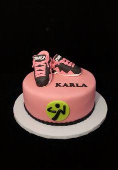 Zumba cake