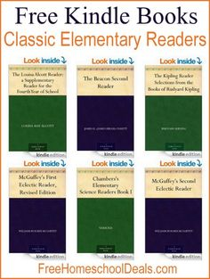 FREE KINDLE BOOKS -- CLASSIC READERS FOR ELEMENTARY!