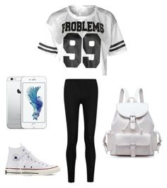 """""""#31"""" by anna2167 ❤ liked on Polyvore featuring Donna Karan and Converse"""