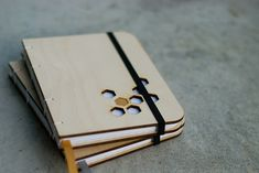 Laser Engraving // Wood-panel covered pocket notebook – blog.ponoko.com