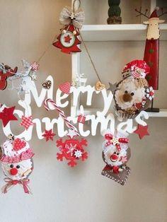 🎄Lebkuchen Girlande★Merry Christmas★Weihnachten★Zuckerstange★Advent★HANDARBEIT