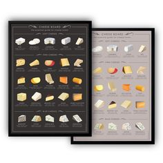 New cheese poster etsy Ideas Cheeseburger Pie, Crock Pot Dips, Chocolate Turtles, Cheese Chips, Kitchen Posters, Berry Salad, Cake Factory, Oreo Truffles, Best Cheese