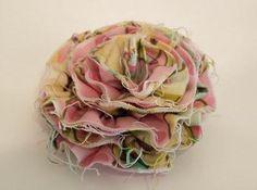 DIY Fabric Flowers : DIY Tattered Flower