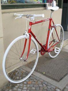 Bianchi Caurus 906 Oria Stahl Klassiker Singlespeed Bike