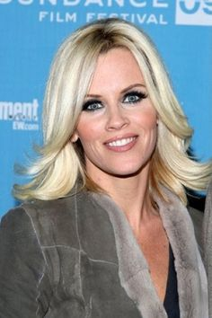 Jenny McCarthy, Wavy Hairstyle For Women With Medium Hair. I got this haircut and I don't like it.
