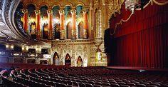 Fox Theatre in Detroit. It has a similar look as the Fabulous Fox Theatre in Atlanta!