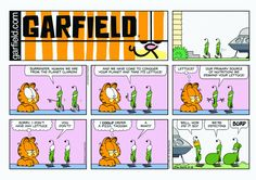 Garfield | Daily Comic Strip on September 18th, 2016