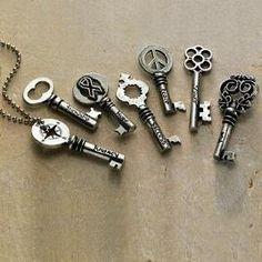 I love odd little keys.