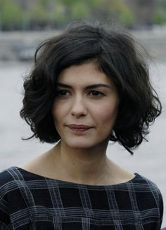 Wish my hair would look like this! Got to love audrey tautou.
