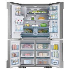 Counter Depth 24 cu. ft. French Door Refrigerator | Samsung