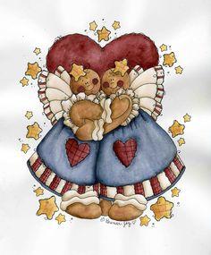 Brenda's Gingerbread Babies
