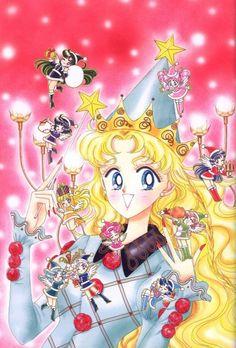 Original Sailor Moon Art Work By Naoko Takeuchi